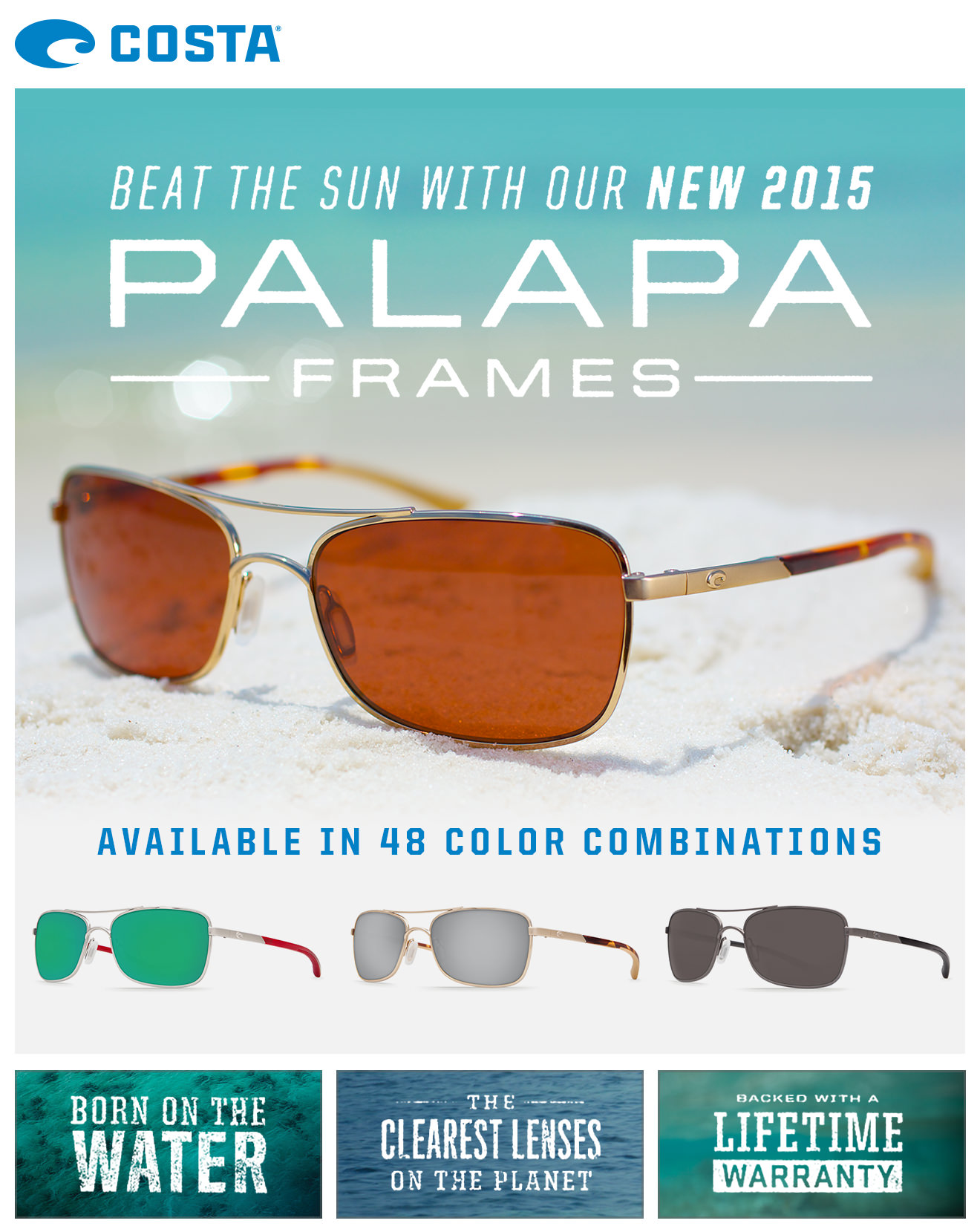 New Costa Del Mar 2015- Palapa - Port Charlotte Eye Doctor ...