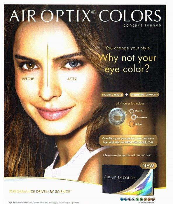 Change the color of your eyes